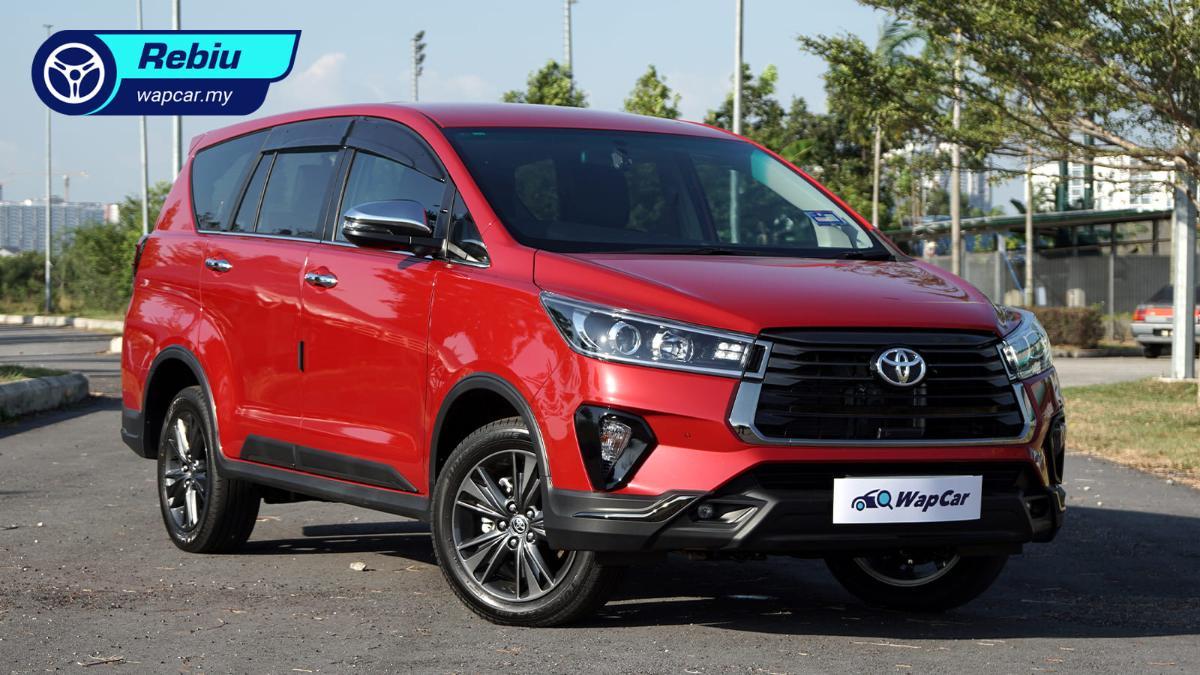 Rebiu jujur: Toyota Innova 2.0 X 2021 – MPV terbaik untuk ketua keluarga yang paling cermat? 01