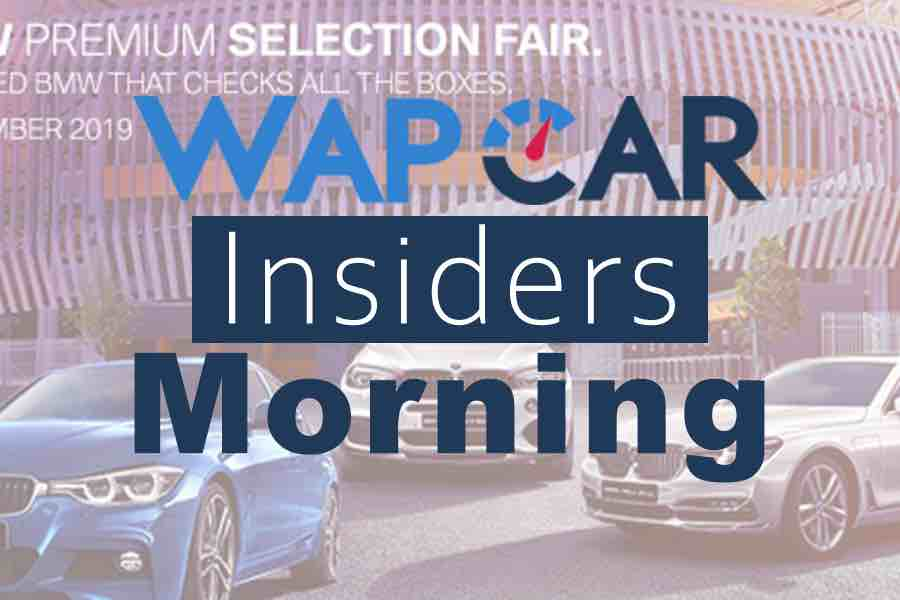Wapcar Morning Insiders (Sep.3, 2019)