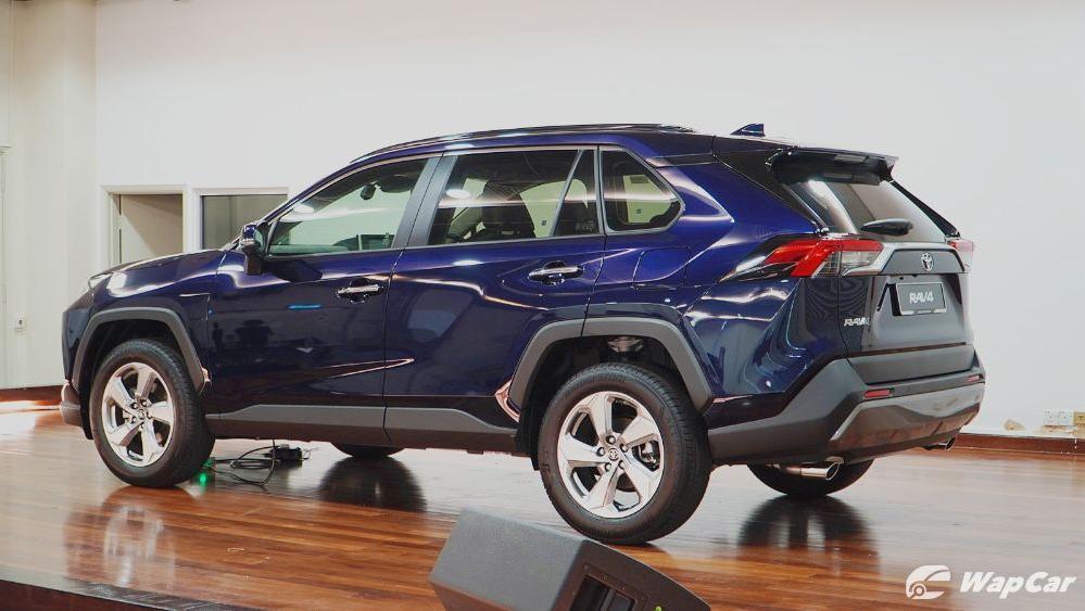 2020 Toyota RAV4 2.5L Exterior 083