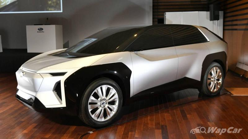 Subaru Solterra debuting in 2022 - brand's first EV SUV, but keeps the AWD goodness! 02