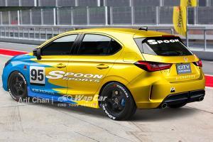 Lakaran: Honda City Hatchback 2021 dengan rupa luaran Spoon – JDM habis tak?