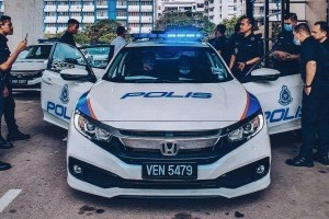Honda Civic now on patrol duty in Shah Alam