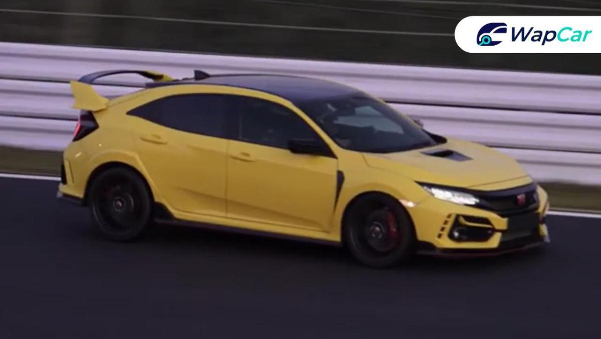 VIDEO: Cubaan Honda Civic Type R Limited Edition 2021 untuk memecahkan rekod? 01