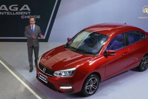 Proton Saga dilancarkan di Pakistan - 4 varian, R3 dengan manual, harga bermula RM 54k!