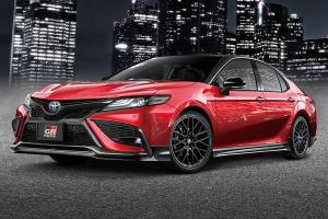 Japan's 2021 Toyota Camry gets RM 35k worth of GR parts - best daily next to GR Yaris?