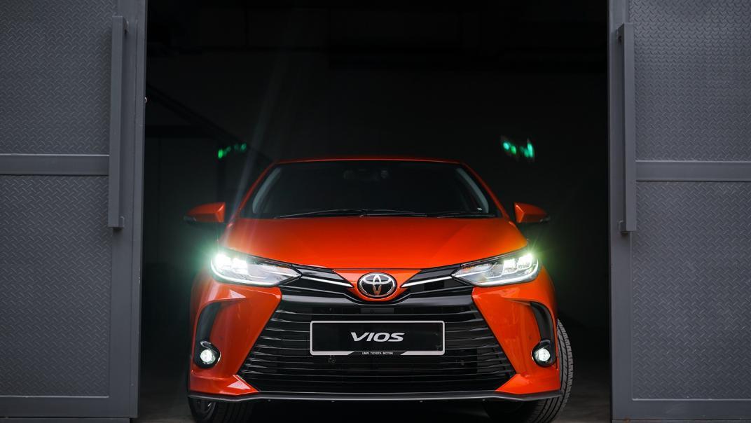 2021 Toyota Vios 1.5E Exterior 011