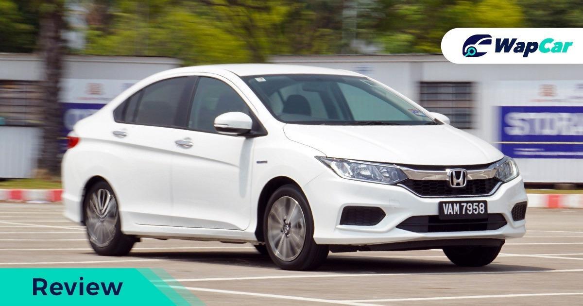 2019 Honda City Hybrid front