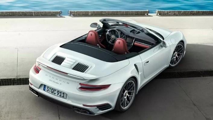 2019 Porsche 911 Turbo S Cabriolet Exterior 003