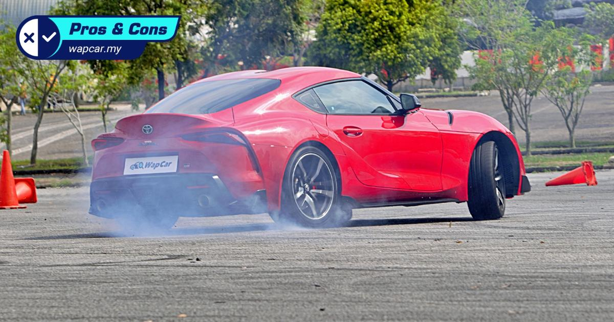 Pros and Cons: 2019 Toyota GR Supra – Lots of power, but visibility is poor 01