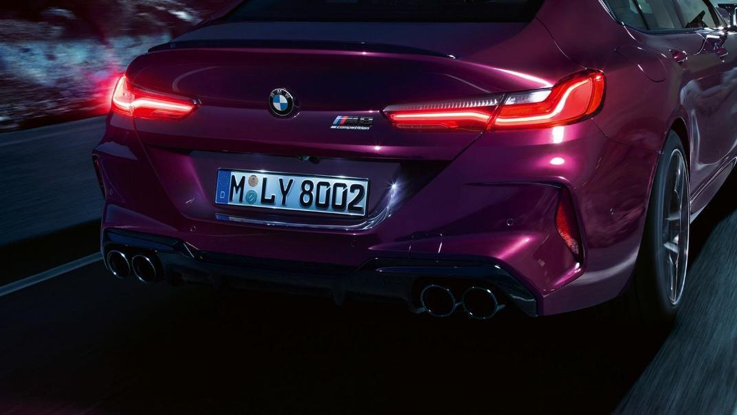2020 BMW M850i xDrive Gran Coupe Exterior 022