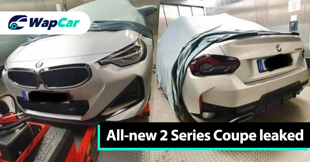 Leaked: Could this be the all-new G42 BMW 2 Series Coupe? 01