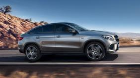 2018 Mercedes-Benz GLE Coupe GLE 400 4Matic Coupe AMG Line Exterior 007