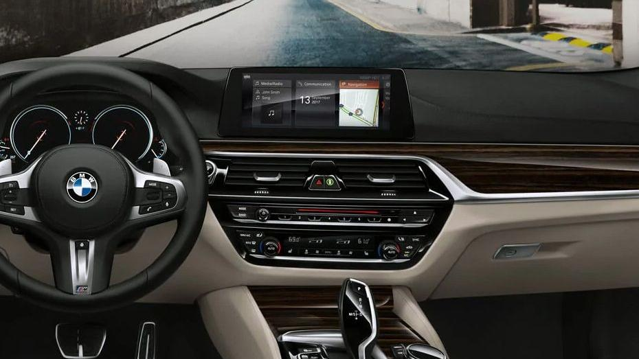 BMW 5 Series (2019) Interior 002