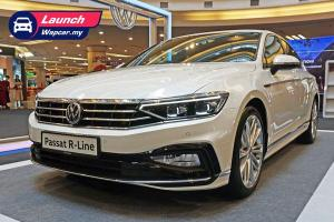New 2020 Volkswagen Passat R-Line open for booking in Malaysia, est RM210k