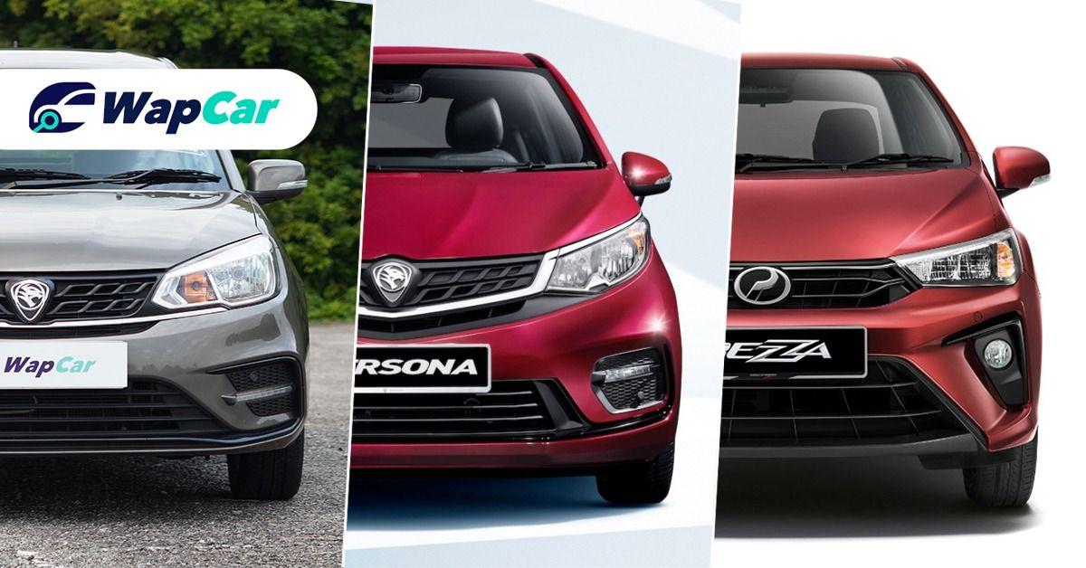 Perodua Bezza 2020 baru vs. Proton Saga vs. Proton Persona – harga lebih kurang sama, nilai berbeza? 01