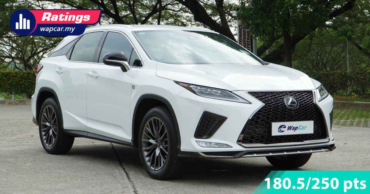 Ratings: Lexus RX300 F Sport in Malaysia - Makes air suspension feel overrated 01