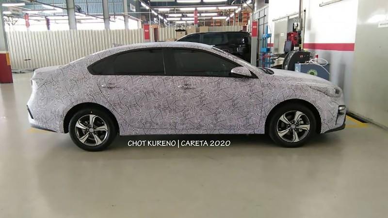 Spied All New 2020 Kia Cerato Caught Malaysia Debut Soon Wapcar