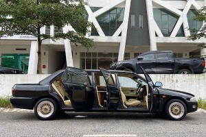 This weird Proton Wira limo can be yours for RM 28,000
