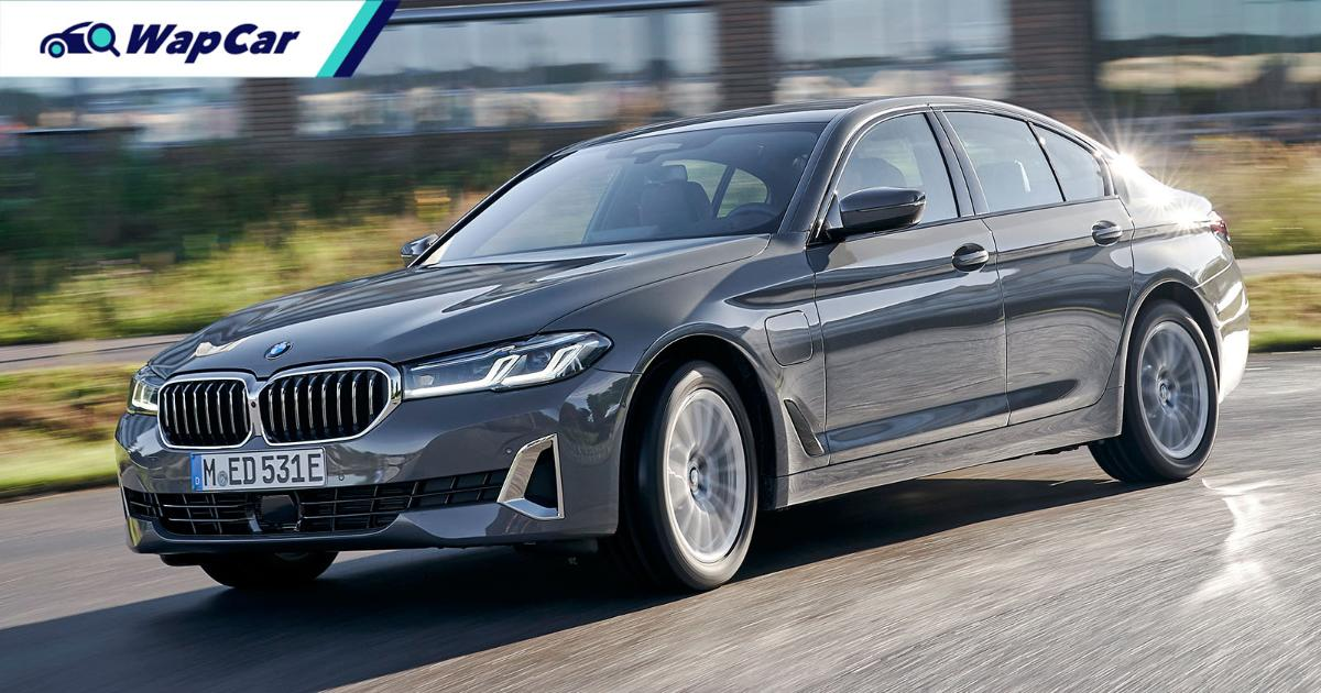 A closer look at the 2020 G30 BMW 5 Series facelift - 530e looking classy! 01