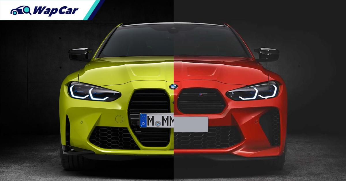 A German tuner 'fixed' the 2021 BMW M4's controversial grille 01