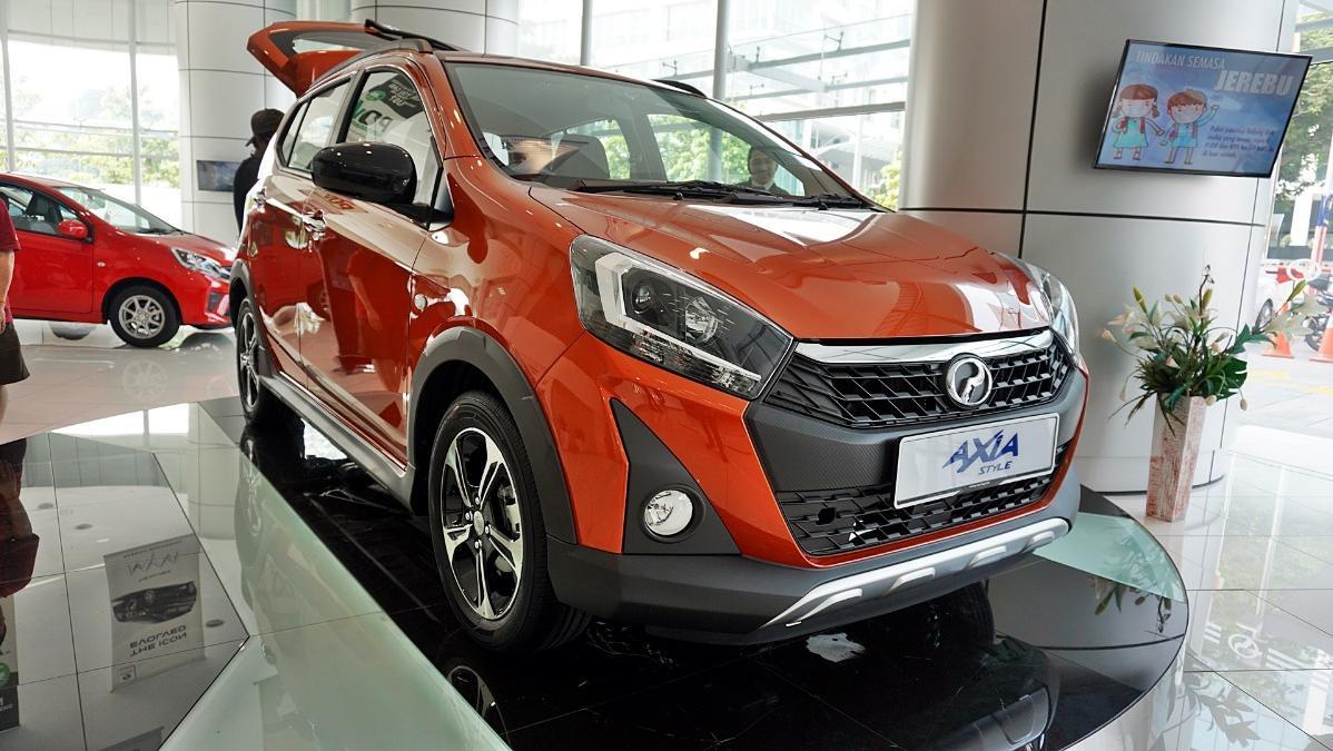 2019 Perodua Axia Style 1.0 AT Exterior 039