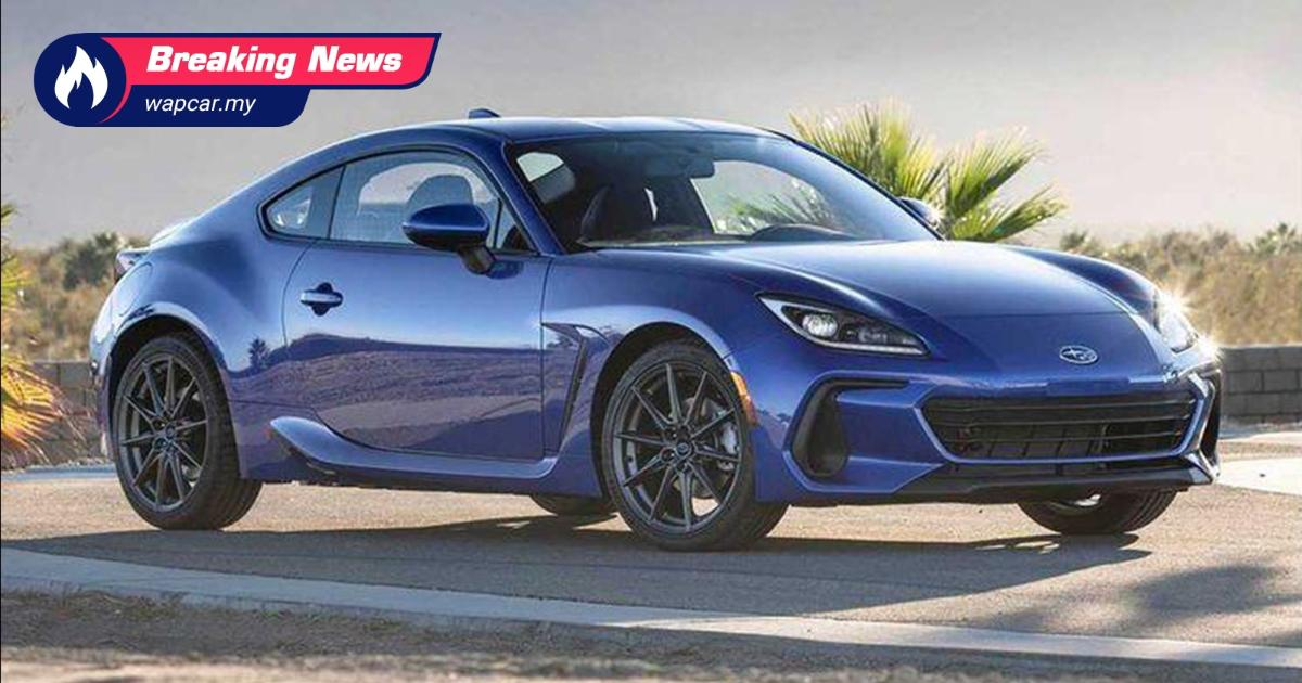 leaked: all-new 2021 subaru brz revealed ahead of debut