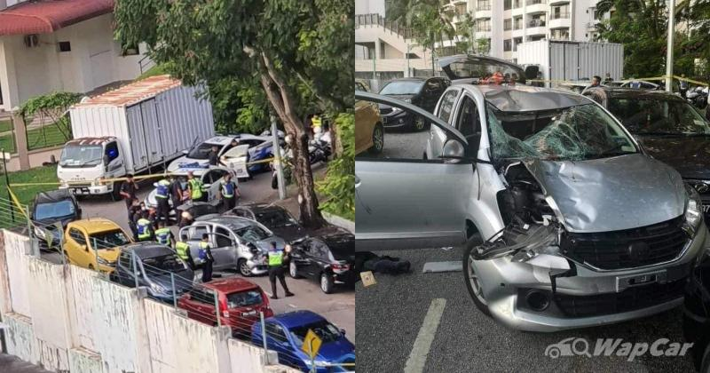 Intoxicated Perodua Myvi driver leads PDRM on a deadly chase around Penang 02