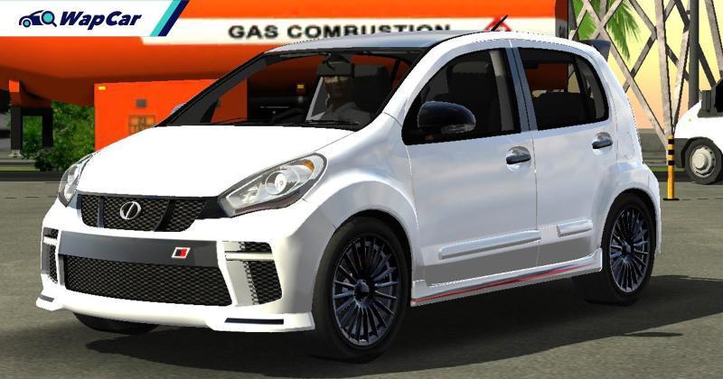 Perodua Myvi GR sebenar? Ini imej render Toyota Passo dengan gaya Gazoo Racing! 01