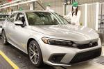 第11代2022 Honda Civic在加拿大正式投产,掀背版本将随后公布