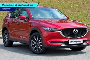 Kebaikan & Keburukan: Mazda CX-5 – pemanduan mantap tetapi ruang kabin tidak memuaskan?
