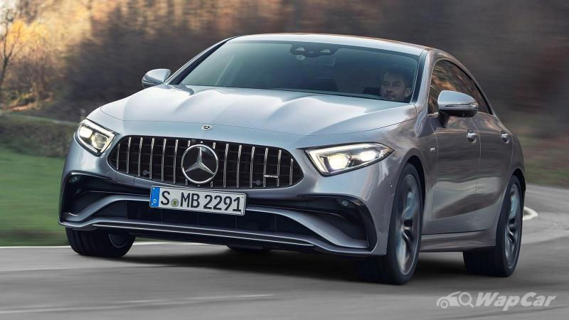 New 2021 Mercedes-Benz CLS gets a new steering wheel, adds MBUX 02