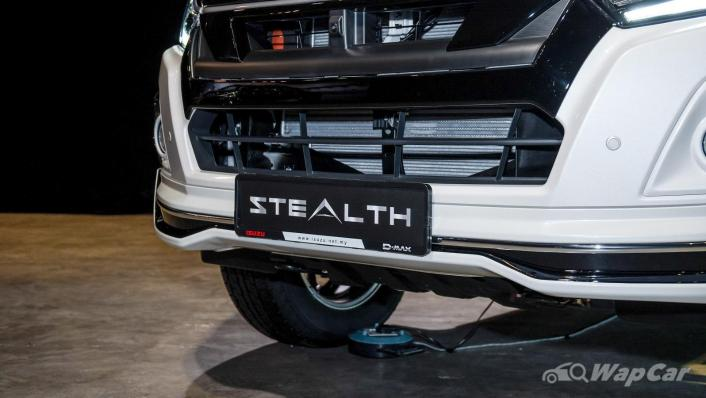 2020 Isuzu D-Max Stealth 1.9L 4×4 AT Exterior 006