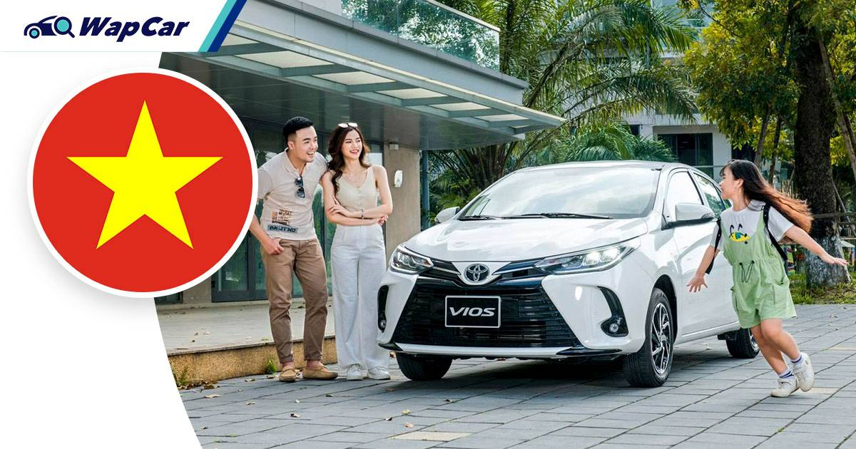 Toyota Vios outsold Honda City 6x in Vietnam in August 2021, nearly 50% market share 01