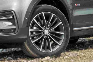 How much does Proton X70's 19-inch tyres cost?