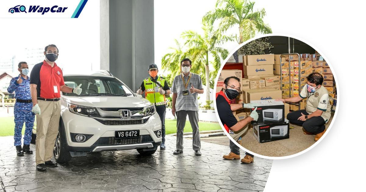 Honda Malaysia donates a Honda BR-V to the Melaka Covid-19 quarantine centre staff 01