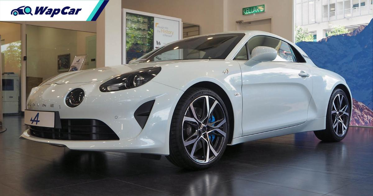 Now in Malaysia, the Alpine A110's price will be decided by you 01