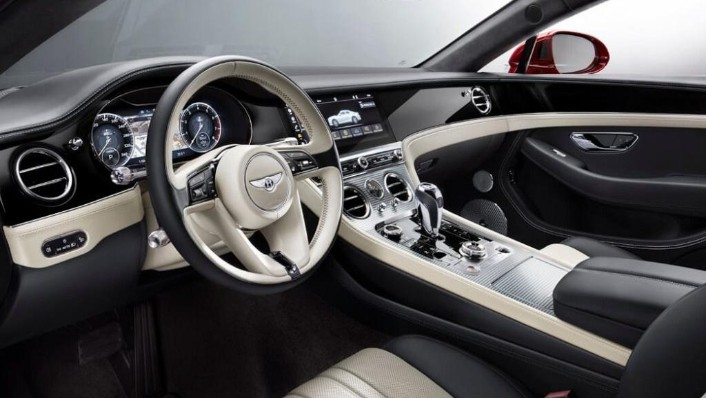 Bentley Continental (2019) Interior 008