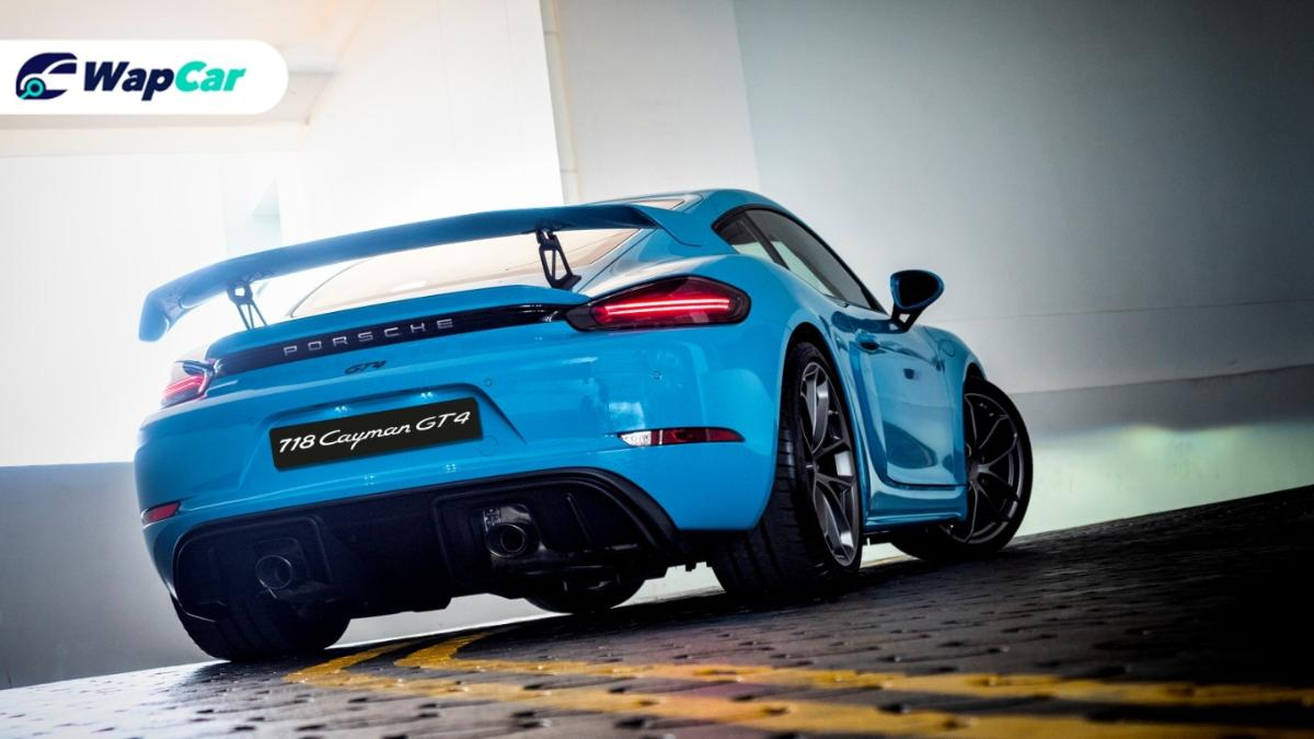 Porsche 718 Cayman GT4 and 718 Spyder launched in Malaysia, 4.0L NA, 6-speed manual only! 01
