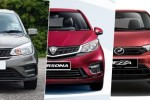 New 2020 Perodua Bezza vs Proton Saga vs Proton Persona – A bigger option for the same price?