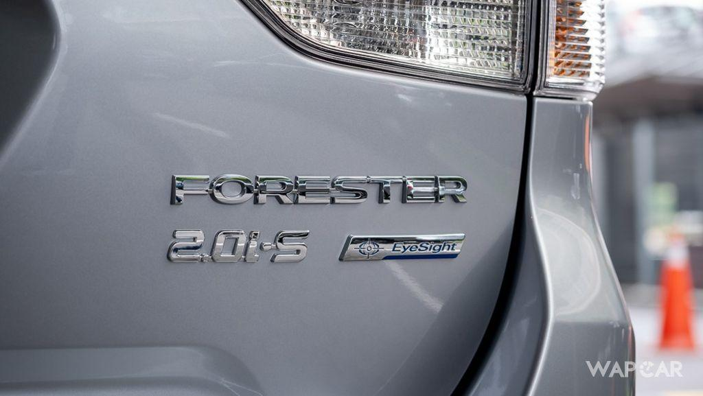 2019 Subaru Forester 2.0i-S EyeSight Exterior 037