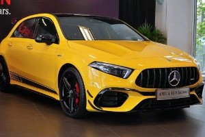 Photo Library: Mercedes-AMG A45 S - The world's most powerful production hatchback