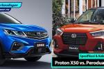 Proton X50 vs Perodua D55L – Spesifikasi apakah yang boleh dijangkakan?