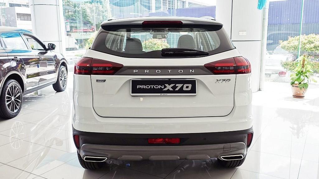 2018 Proton X70 1.8 TGDI Executive AWD Exterior 006