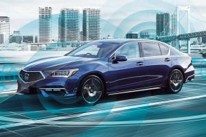 Honda Legend's Sensing Elite - world's first road legal L3 autonomous driving car