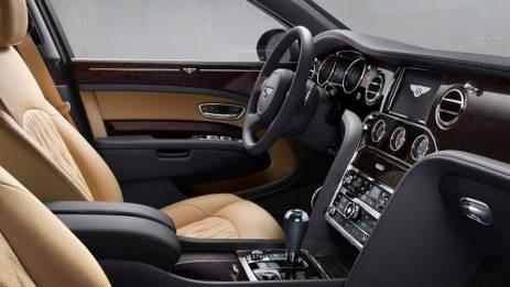Bentley Mulsanne (2017) Interior 001