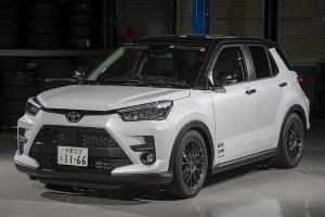 Toyota Raize dengan aksesori Blitz - giliran Perodua D55L 2020 selepas ini?