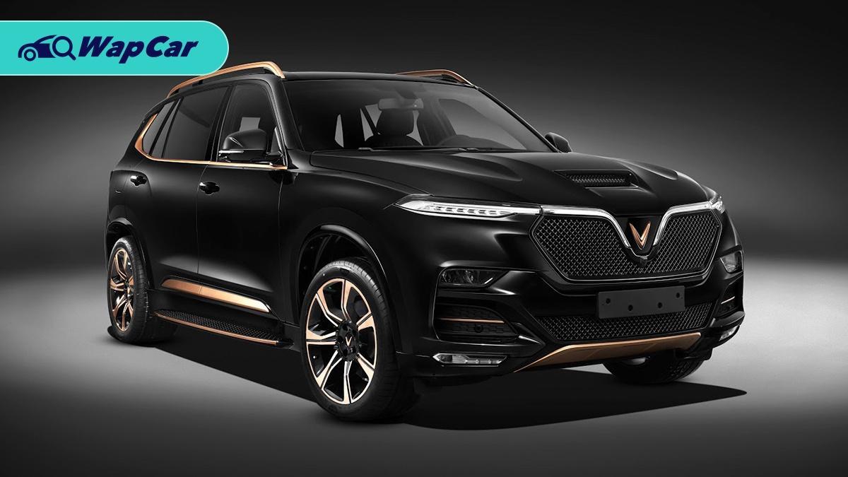 VinFast unveils Vietnam's first luxury SUV based on the BMW X5 01