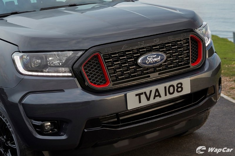 The 2020 Ford Ranger Thunder is a more handsome Ranger Wildtrak we hope to see in Malaysia 02