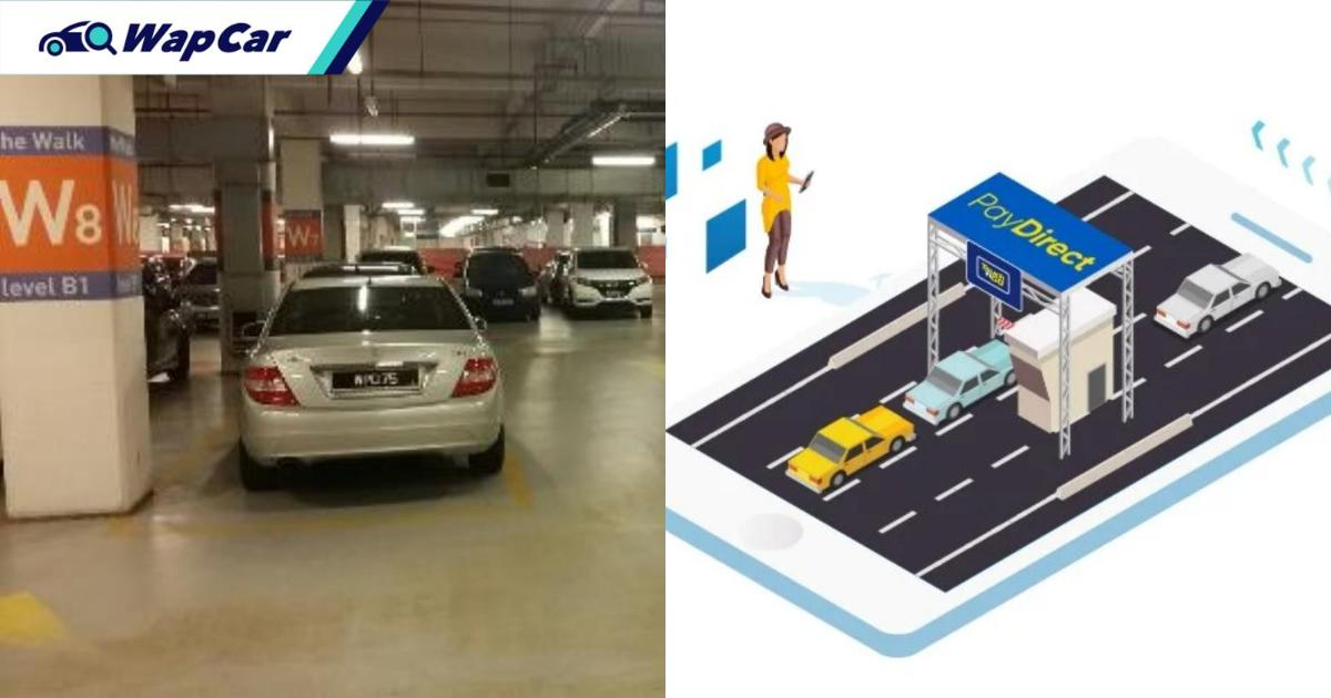 TNG rolls out PayDirect Parking feature! Swipe your TNG card and pay with eWallet 01