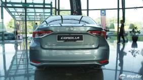 2019 Toyota Corolla Altis 1.8E Exterior 008